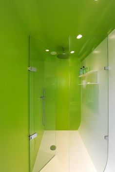 American design classic inspires aluminum pod loft conversion By James Holloway May 23, 2013 Artist Jean Glibert was commissioned to pick out colors for the bathrooms lighting (Photo...