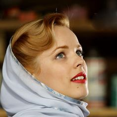 Rachel McAdams as Allie in my movie, The Notebook and she is my fave actress!