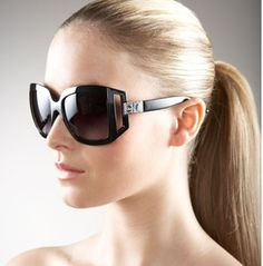 Dior 61 Open-Temple Sunglasses