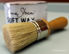 ::Git Yer Wax On (and off):: How to wax with Annie Sloan wax