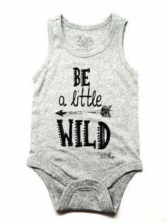 """Infant """"Little Wild"""" Tank Onesie"""