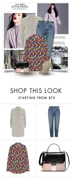"""""""..."""" by bliznec-anna ❤ liked on Polyvore featuring MaxMara, Topshop, Equipment, L'Autre Chose, women's clothing, women's fashion, women, female, woman and misses"""