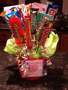 Candy & Gift Card bag