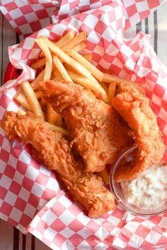 Crispy Beer Battered Fish Sandwich | Recipe | Fish Sandwich, Battered ...