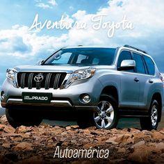 Vive tu primera aventura #Toyota en una #Prado5Puertas, toda la rudeza y el poder propio de un 4x4. ¿Quieres probarla? Te damos el gusto en una prueba de ruta en tu concesionario #Autoamérica    #ToyotaEsToyota #Autoamérica #ToyotaColombia #Toyotero #Toyotalover #OffRoad