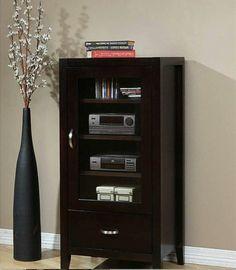Audio Cabinet Home Sound System Stereo Rack Entertainment Center Unit TV Stand  $347.00  http://cgi.ebay.com/ws/eBayISAPI.dll?ViewItem&item=321326908573