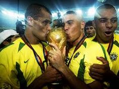 World Cup winners Brazil 2002