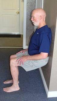 wall slide exercise imag