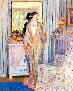 The Yellow Room - Frederick Carl Frieseke  1918
