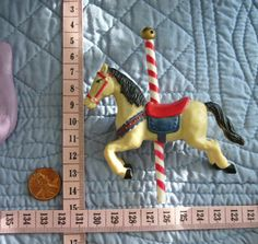 BIG Caroussel Horse Food Safe Silicone Mold by MoldCreationsNmore