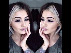 by jamie genevieve Makeup And Beauty Blog, Hair Beauty, Beauty Ideas, Flawless Makeup, Skin Makeup, Straight Hairstyles, Cool Hairstyles, Hair Color Streaks, Good Hair Day