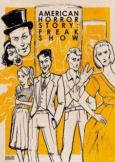 AHS: Freak Show ~ Oddities on Behance