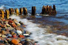 Waves at Kalundborg Coast by Finn Lyngesen - Panoramio -
