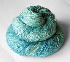 Beautiful silk yarn