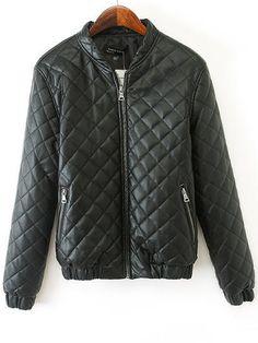 New Casual  Long Sleeve Blended  Jacket Jackets from stylishplus.com