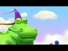 Zumbers - Cocodrula te enseña los números, dibujos animados infantiles -...