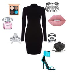 """""""Untitled #118"""" by niamartin07 on Polyvore featuring Phase Eight, Giuseppe Zanotti, Eva Fehren, Neil Lane, Cristabelle, Christian Louboutin, MAC Cosmetics, Lime Crime and Versace"""