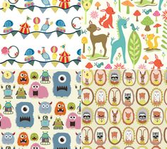Stylesight Kids Prints, Fairytale Fabrics