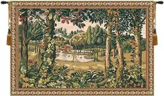 Woven in Belgium History: Hamlet is a jacquard wall tapestry made in Belgium. The original design was commissioned by King Sigismund Augustus of Poland, later t