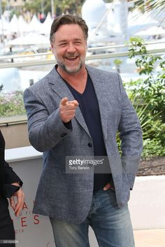 Russell Crowe attends the 'The Nice Guys' Photocall during the 69th annual Cannes Film Festival on May 15, 2016 in Cannes, France.