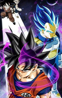 Goku ultra istinct Vegeta super Saiyan shinka