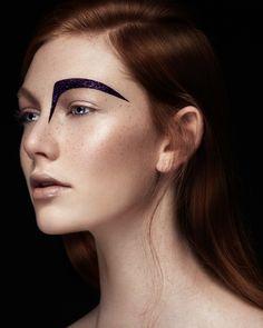 """All that Glitter"" Photography: Ruo Bing LiMakeup & Hair: Jodi Urichuk @ Plutino GroupModel: Lauren G @ Spot 6 ModelsPost production : Kushtrim Morrzy Kunushevci & Ruo Bing Li"