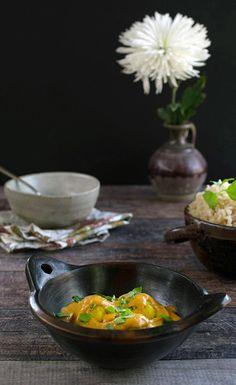 Idaho® Potato Kofta with an Easy Creamy Curry Sauce (Aloo Kofta) Air Fryer Baked Potato, Potato Fritters, Idaho Potatoes, Curry Sauce, Indian Curry, Indian Food Recipes, Vegan, Curries, Baking