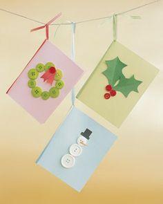 diy xmas cards for kids diy navidad para nios