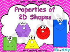 Properties of 2D Shapes teaching resource - PowerPoint and worksheets