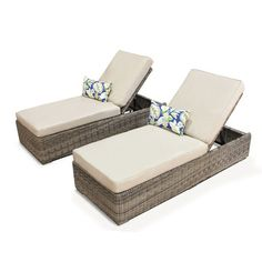 I found this amazing Set of 2: Royal Outdoor Patio Chaise Lounge Chairs at nomorerack.com for 60% off. Sign up now and receive 10 dollars off your first purchase.  If only I could afford this...