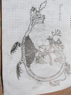 diseño de dragon
