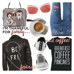 """I'm Thankful For..."" by stacey-lynne ❤ liked on Polyvore featuring Dolce&Gabbana, Veda, Gucci and Alexander McQueen"