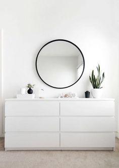 40 IKEA Malm Dresser Hacks   ComfyDwelling.com #PinoftheDay #IKEA #malm #dresser…