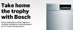 Win A Bosch Dishwasher  ends 4/13
