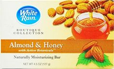 White Rain Boutique Collection Almond Honey Bar Soap 45 oz 6 Pack >>> More info could be found at the image url. (This is an affiliate link) Types Of Facials, Facial Bar, Bar Soap, Almond, Honey, Rain, Boutique, Image, Collection