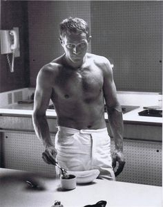 I had a cat named Steve McQueen once. He looked nothing like this.