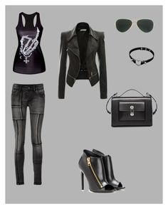 """Untitled #17"" by beslija-indira ❤ liked on Polyvore featuring Ray-Ban, Tom Ford, Balenciaga, women's clothing, women's fashion, women, female, woman, misses and juniors"