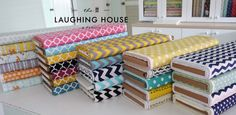 Just arrived from #RileyBlakeDesigns . Check them out at Laughing House Fabric http://laughinghousefabric.etsy.com