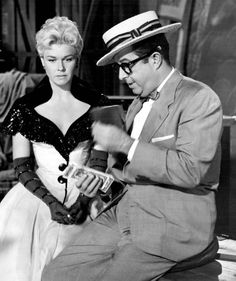 With Phil Silvers in Lucky Me...
