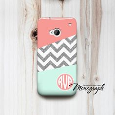Custom Monogram HTC One Cover Phone Case Monogrammed by monograph, $16.00