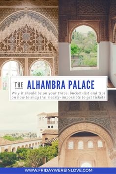 Spain Day 6: Granada and The Alhambra - Friday We're in Love