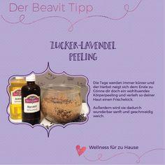 Zucker Lavendel Peeling einfach selbst gemacht! Das perfekte Geschenk! Peeling, Oatmeal, Blog, Breakfast, Beauty, Sugar, Tips And Tricks, Homemade, Health