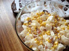 Kulinarny Szał: Sałatka z kalafiorem i ananasem