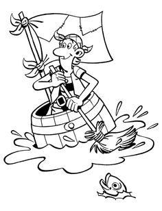 Pirate coloring