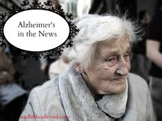 Alzheimer's If there is any truth to this -- why take the risk of ignoring it?