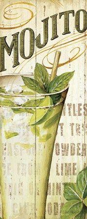 Mojito by Lisa Audit art print