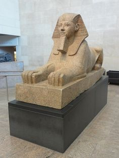 Sphinx of Hatshepsut 3D Model Made with 123D Catch Online