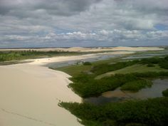 Lencois Maranhenses, Nord Brasile, vicino Sao Luis @ArturoCelletti #paesaggisurreali