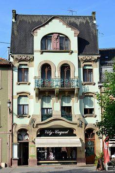 Guebwiller, maison art nouveau ~ Alsace, France