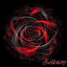 Black and Red Art | Black and red rose - zeldas... by Heart-0f-Darkness
